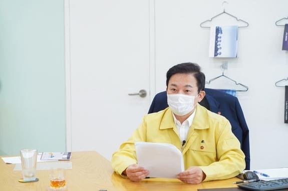 """(제주일보) 원희룡 지사 """"제주, 코로나 도피처 아니다"""""""